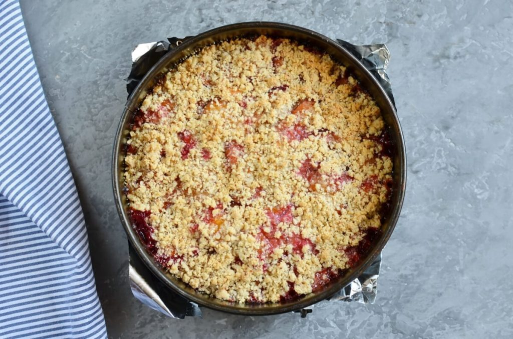 Damson Plum Crumble Cake recipe - step 11