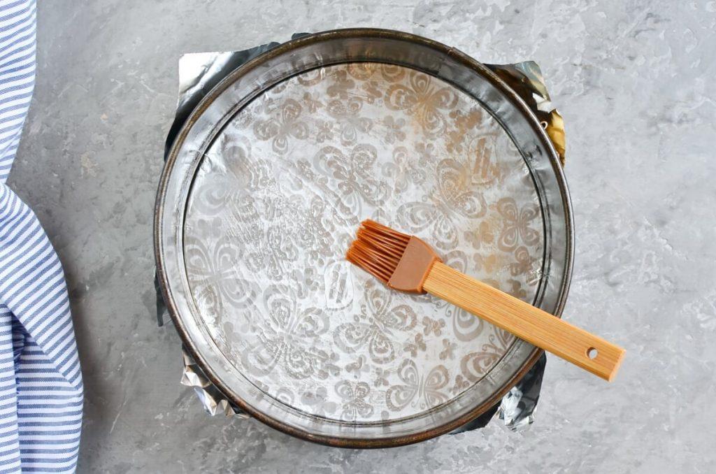 Damson Plum Crumble Cake recipe - step 1