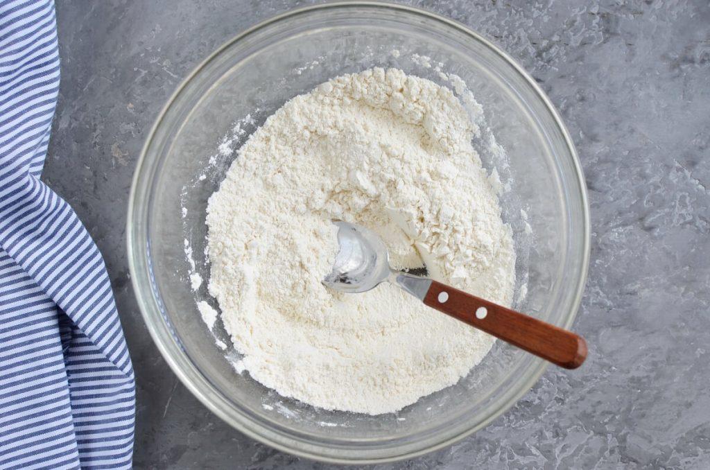 Damson Plum Crumble Cake recipe - step 2