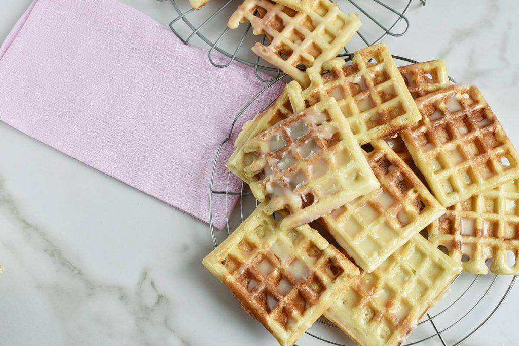 Donut-Glazed Yeasted Waffles recipe - step 10