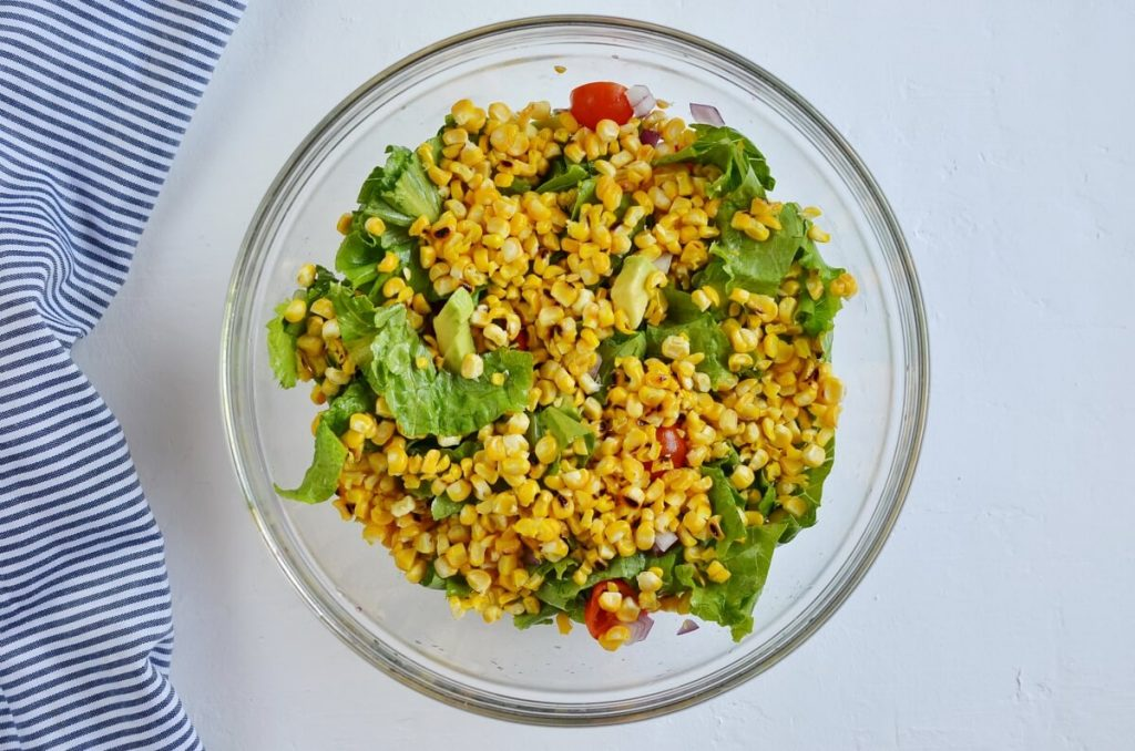 Grilled Chicken Corn Salad recipe - step 2