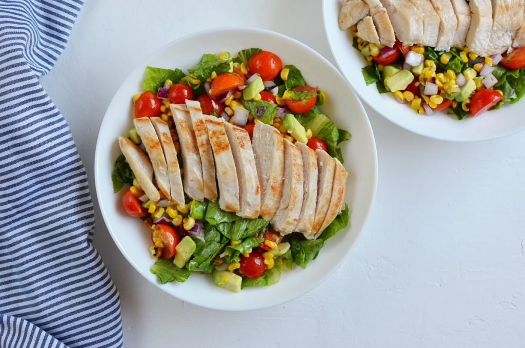 How to serve Grilled Chicken Corn Salad