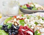 Grilled Chicken Salad with Raspberry