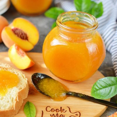 Homemade Canned Peach Butter Recipe-How To Make Homemade Canned Peach Butter-Easy Homemade Canned Peach Butter