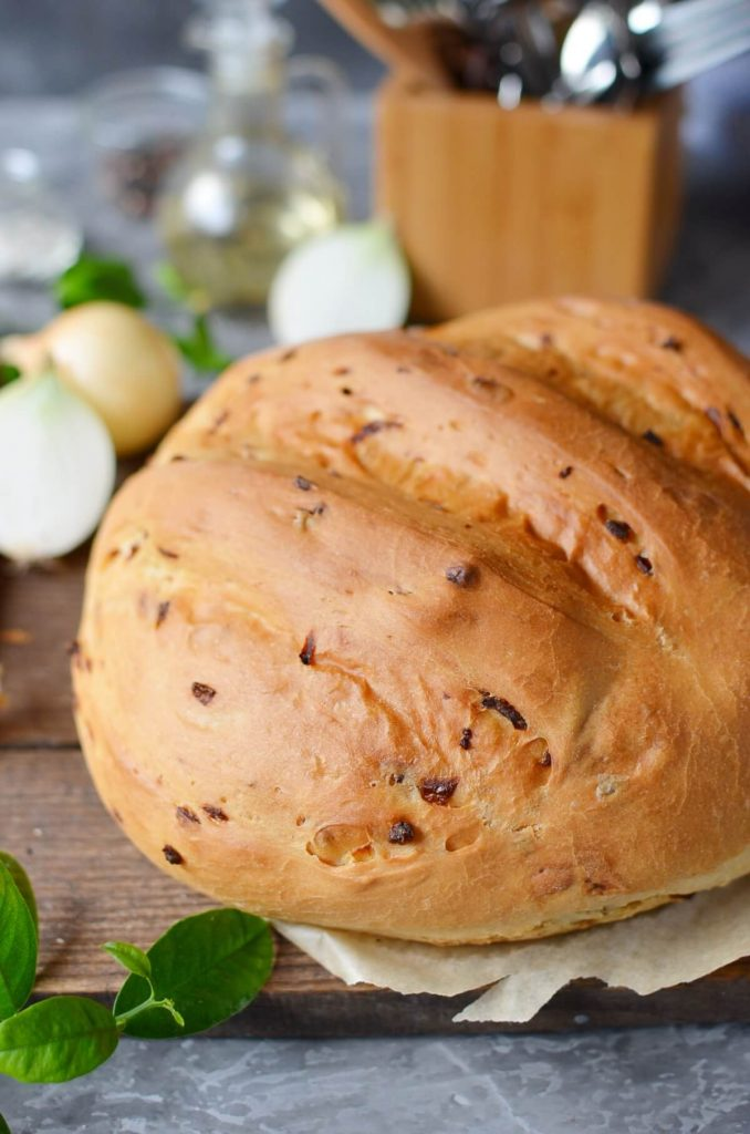 Whole-wheat and Onion Loaf