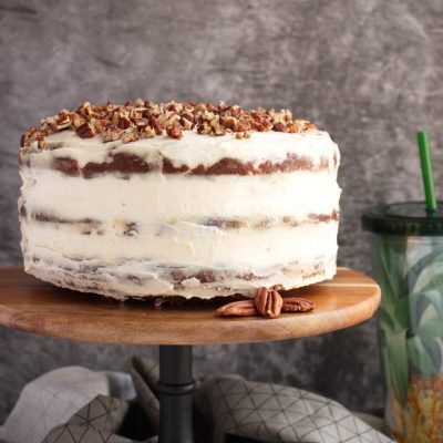 Hummingbird Cake Recipe-Best Hummingbird Cake-Hummingbird Cake With Cream Cheese Frosting