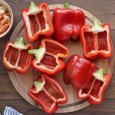 Italian Stuffed Peppers recipe - step 2