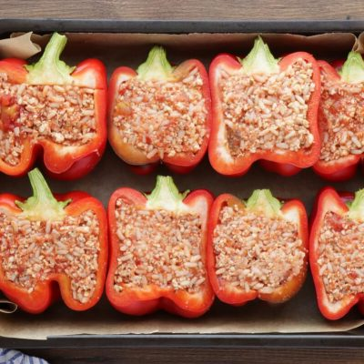 Italian Stuffed Peppers recipe - step 6
