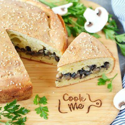 Mushroom Pie Recipe-How To Make Mushroom Pie-Delicious Mushroom Pie