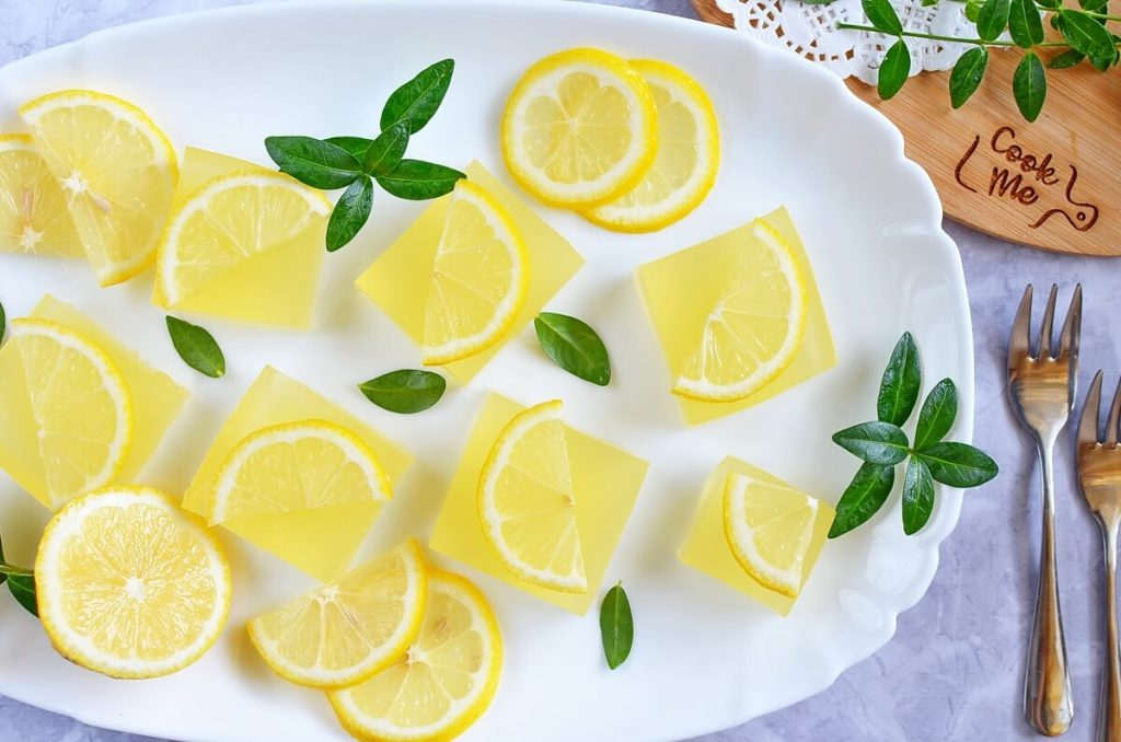 How to serve Naturally Sweetened Homemade Lemon Jello