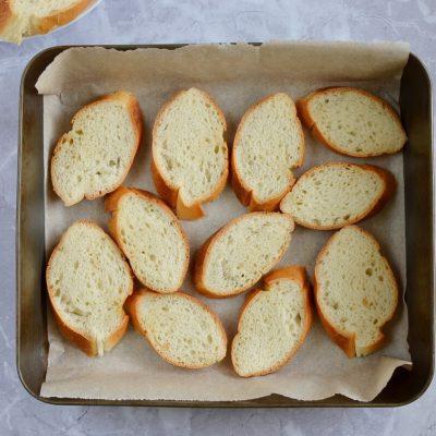 Peach Bruschetta recipe - step 2