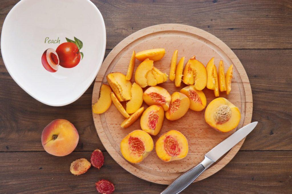 Fresh Peach Crostata recipe - step 2