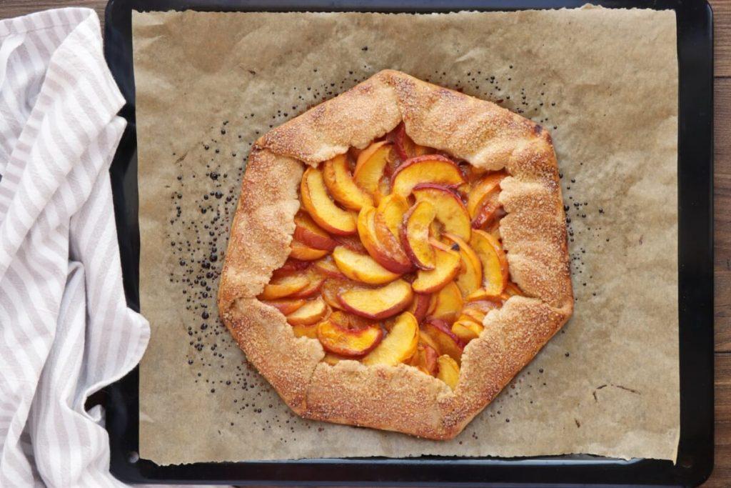 Fresh Peach Crostata recipe - step 7