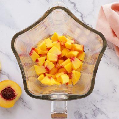 Peach Mousse recipe - step 1
