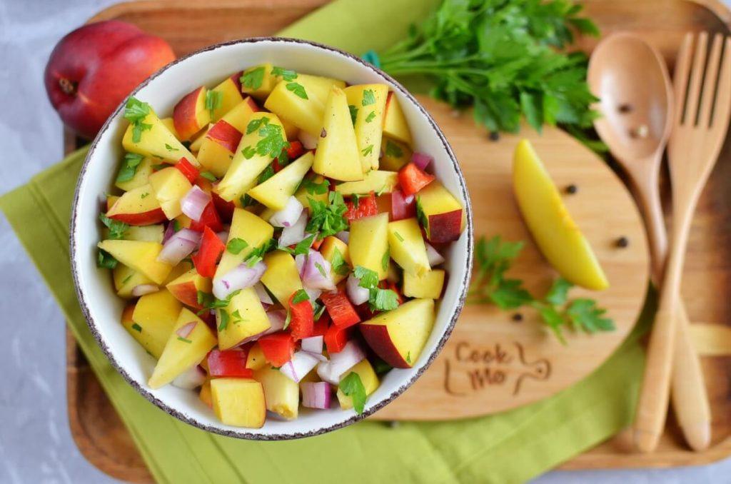 How to serve Peach and Nectarine Salsa