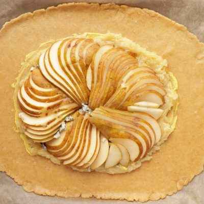Pear and Blue Cheese Savory Galette recipe - step 6
