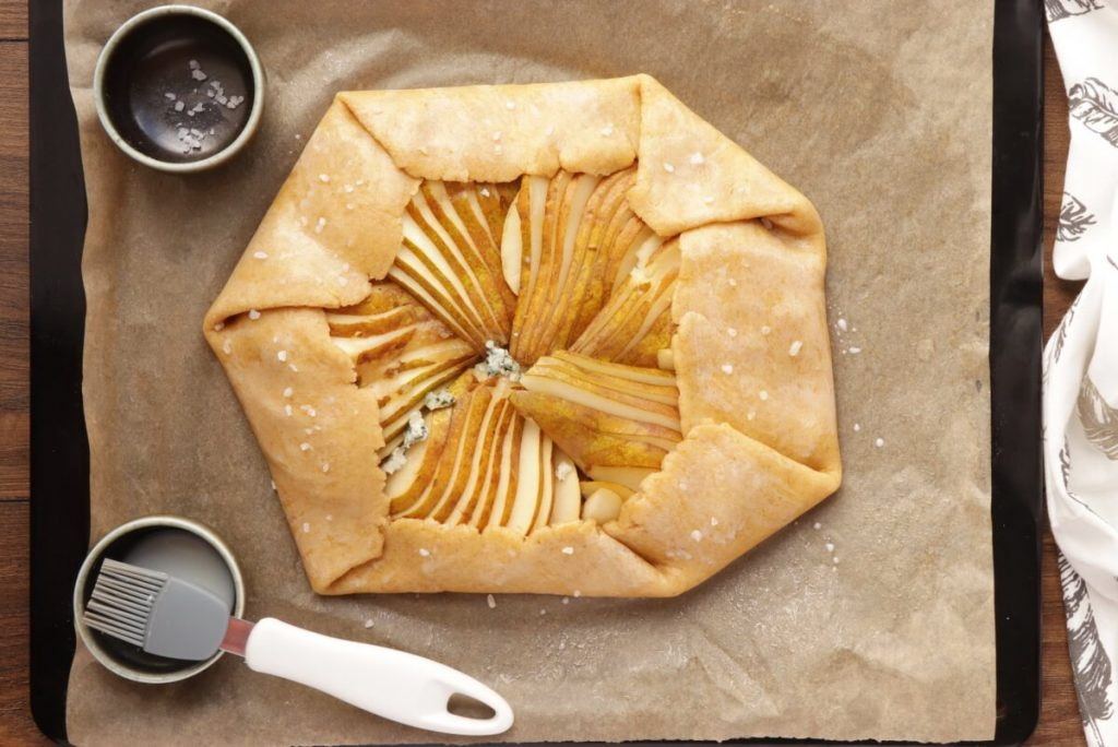 Pear and Blue Cheese Savory Galette recipe - step 7