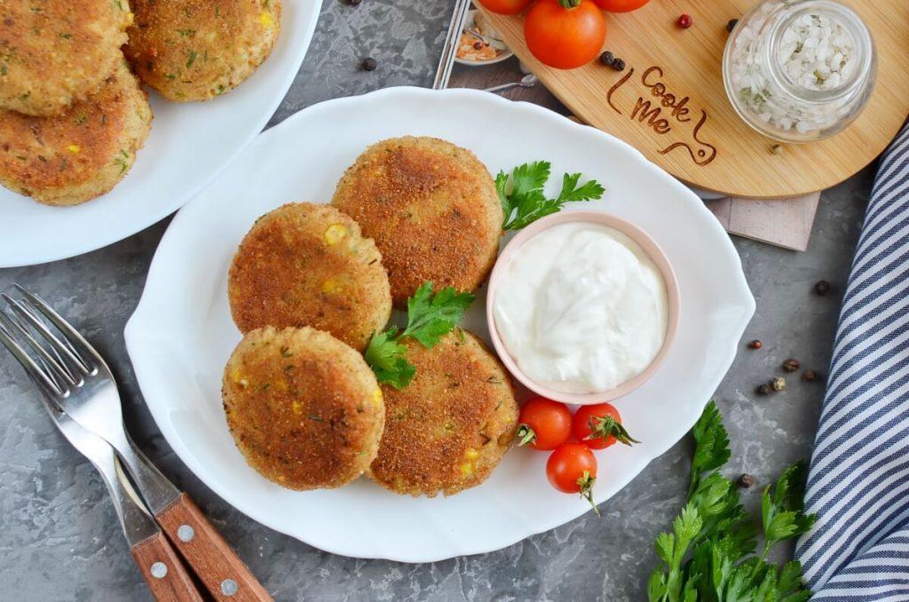 How to serve Potato and Tuna Patties