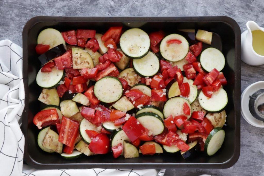 Rustic Roasted Vegetable Tart recipe - step 2