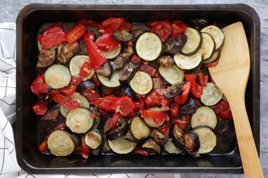 Rustic Roasted Vegetable Tart recipe - step 3