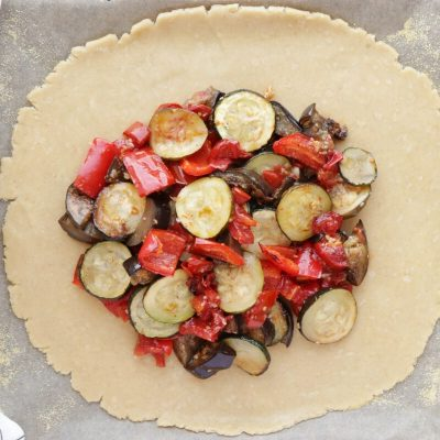 Rustic Roasted Vegetable Tart recipe - step 5