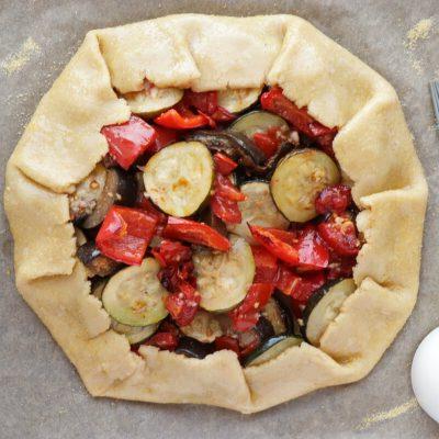 Rustic Roasted Vegetable Tart recipe - step 5