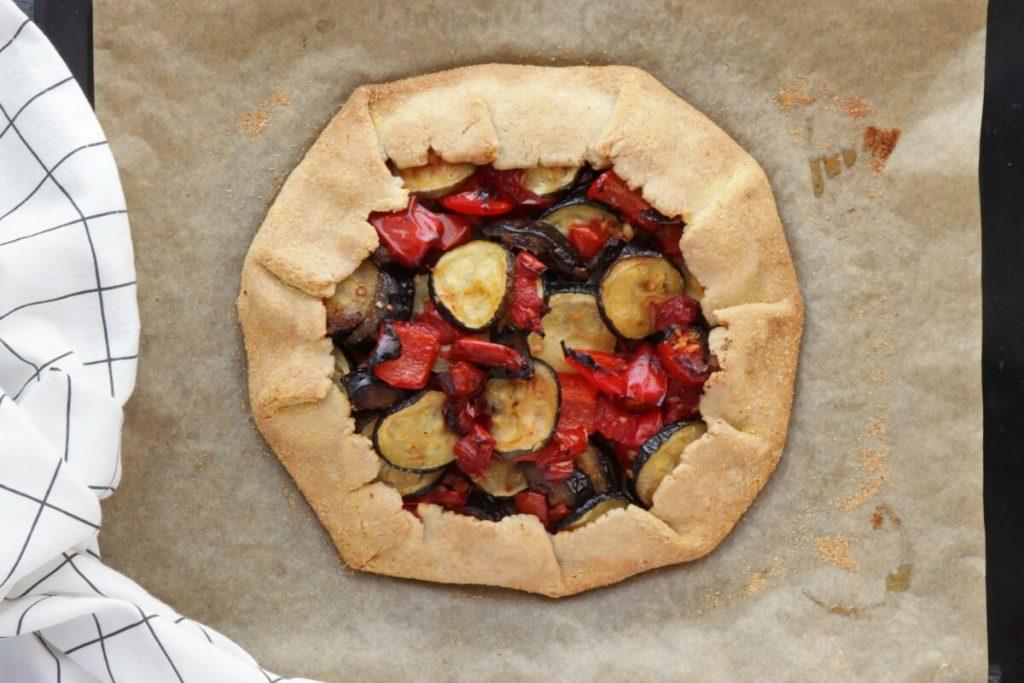 Rustic Roasted Vegetable Tart recipe - step 6