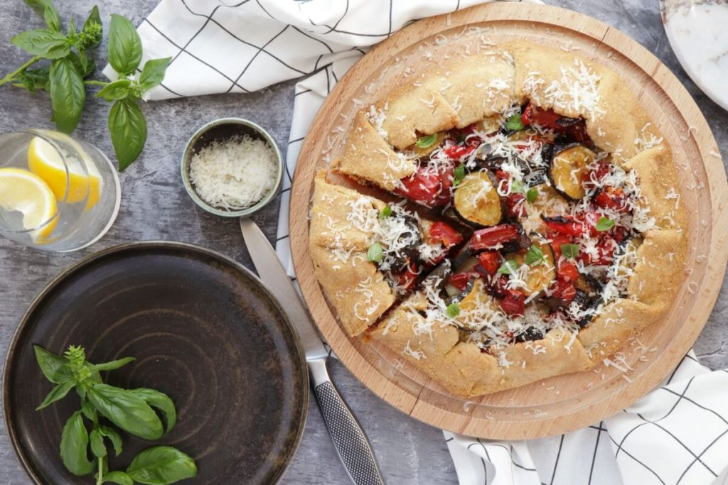 How to serve Rustic Roasted Vegetable Tart