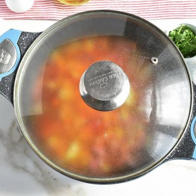 Smoked Sausage and Vegetable Soup recipe - step 5