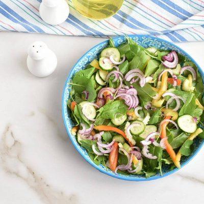 Spicy Grilled Chicken Salad recipe - step 6