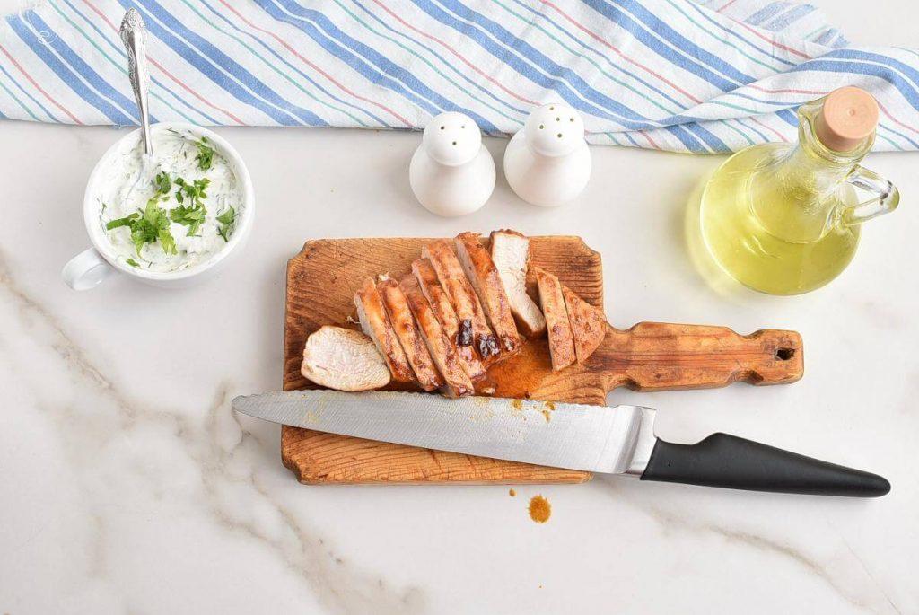 Spicy Grilled Chicken Salad recipe - step 5