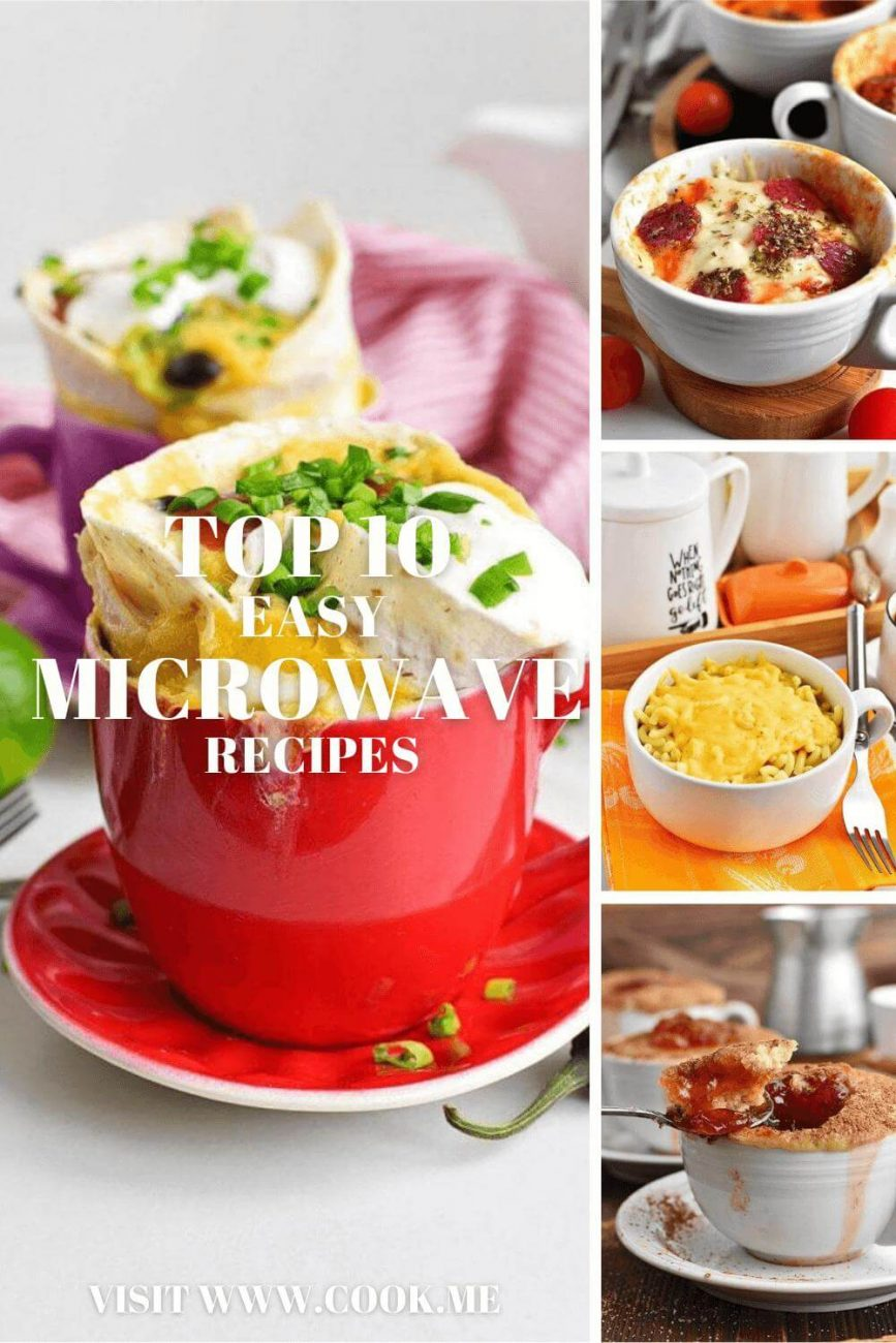 TOP 10 Easy Microwave Recipes - Easy Microwave Recipes - Microwave Recipes