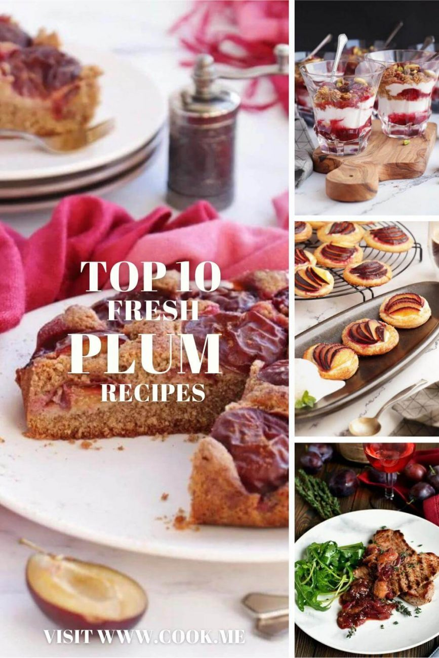 TOP 10 Fresh Plum Recipes - Best Fresh Plum Recipes - Cooking with Plums