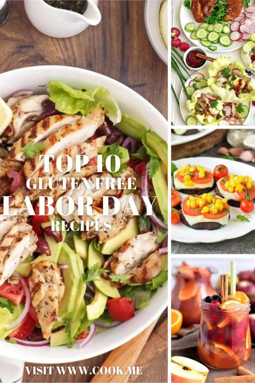 TOP 10 Gluten Free Labor Day Recipes - Best A Gluten-free Labor Day - Healthy Labor Day Recipes
