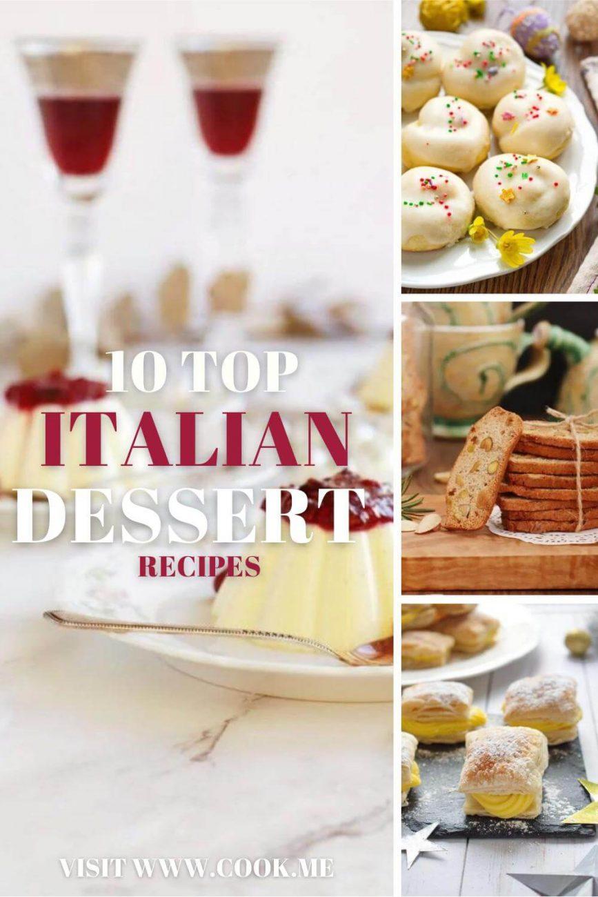 TOP 10 Italian Dessert Recipes - Top 10 Italian Desserts - Italian Desserts We Love
