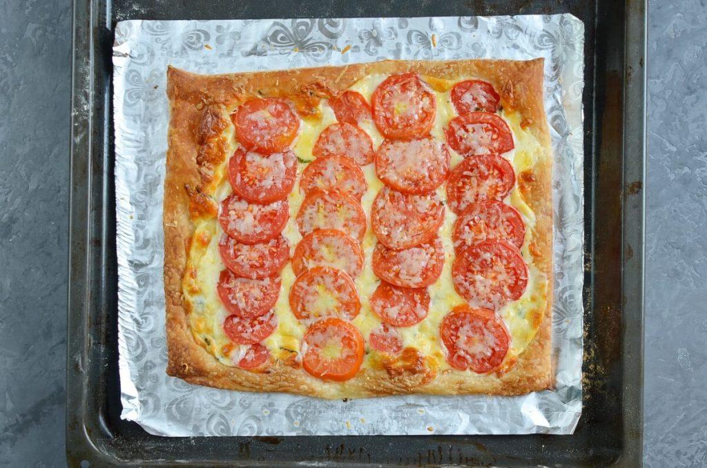 Tomato Tart with Three Cheeses recipe - step 4