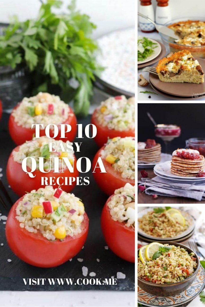 Top 10 Quinoa Recipes - How to Cook Perfect Quinoa - Best Quinoa Recipes