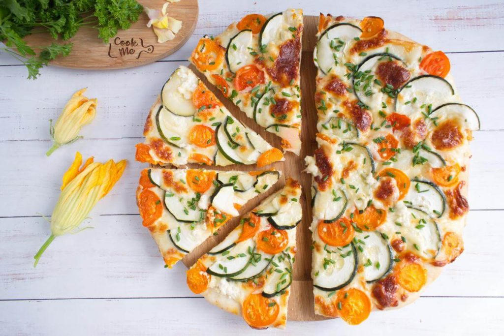 How to serve Best Zucchini Pizza