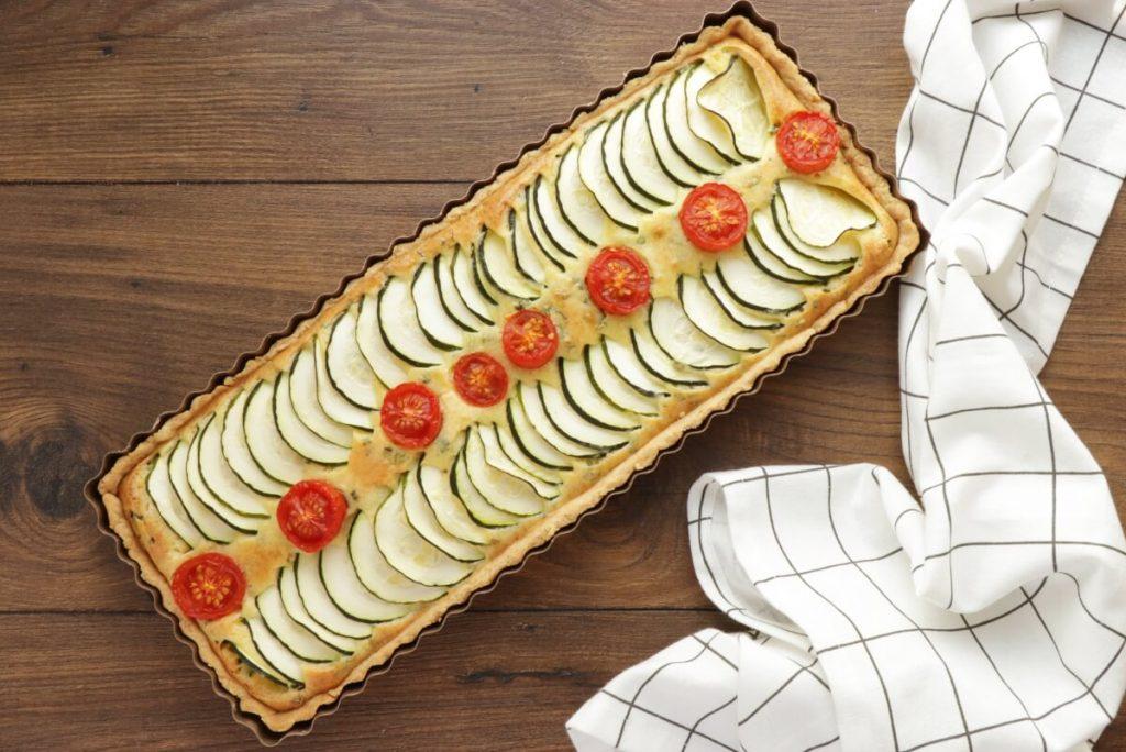 Zucchini Tart recipe - step 10