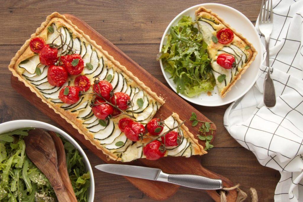 How to serve Zucchini Tart