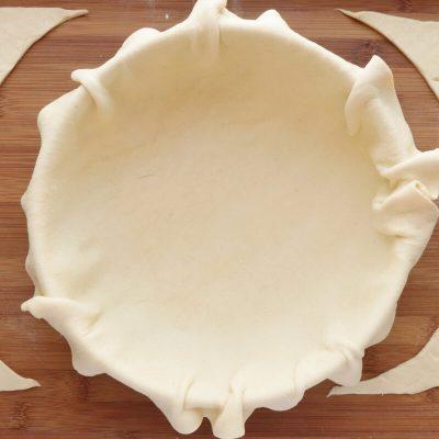 Zucchini, Tomato and Mozzarella Tart recipe - step 2