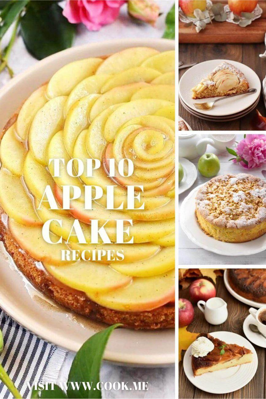 10 TOP Apple Cake Recipes - Best Apple Cake Ever - The BEST Apple Cake