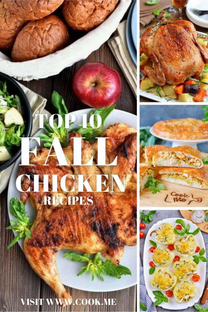 TOP 10 Fall Chicken Recipes