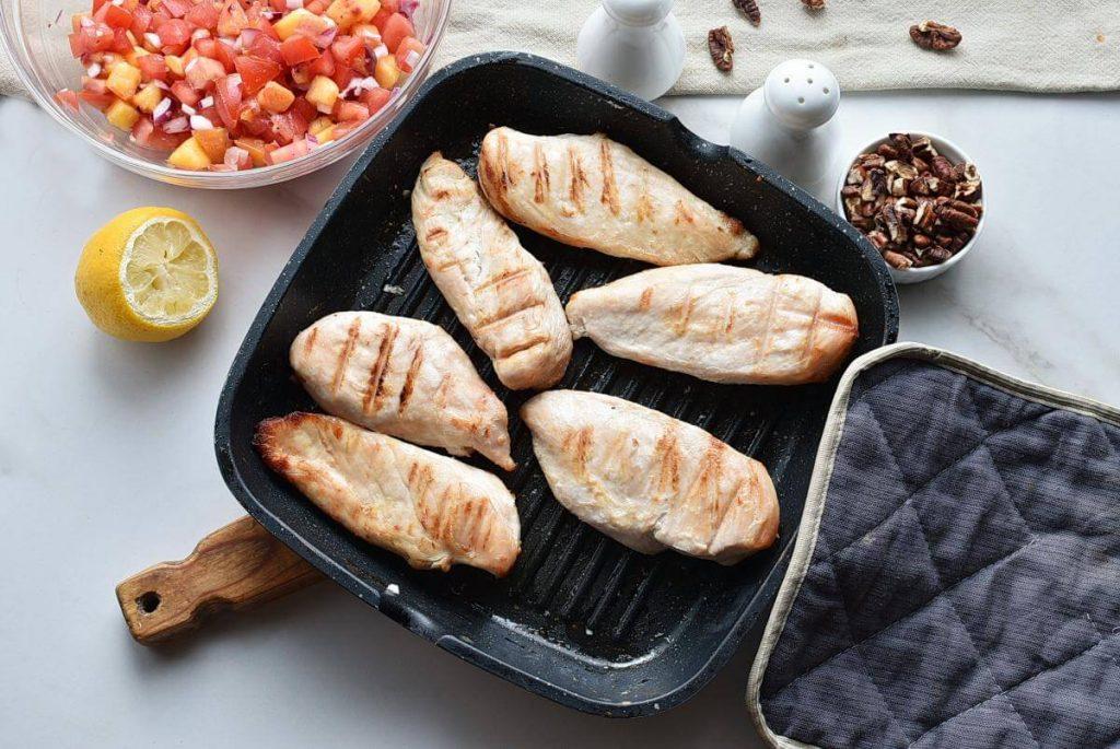 Buttermilk Chicken with Peach Salsa recipe - step 4