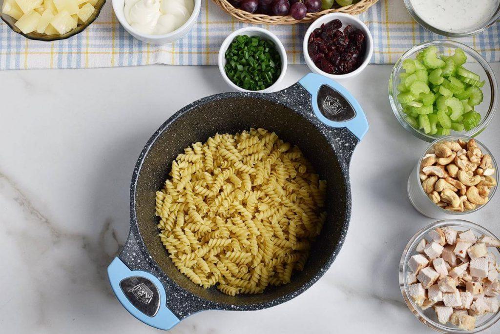 Cashew-Chicken Rotini Salad recipe - step 1