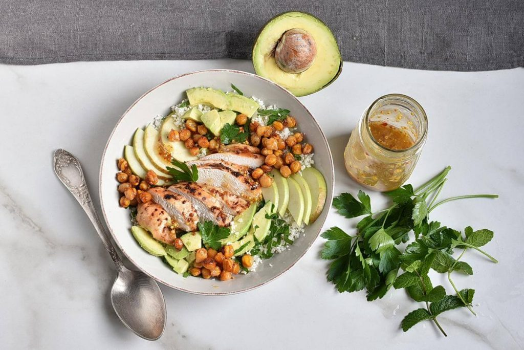 Chickpea Salad with Chicken, Apples, & Avocado recipe - step 7