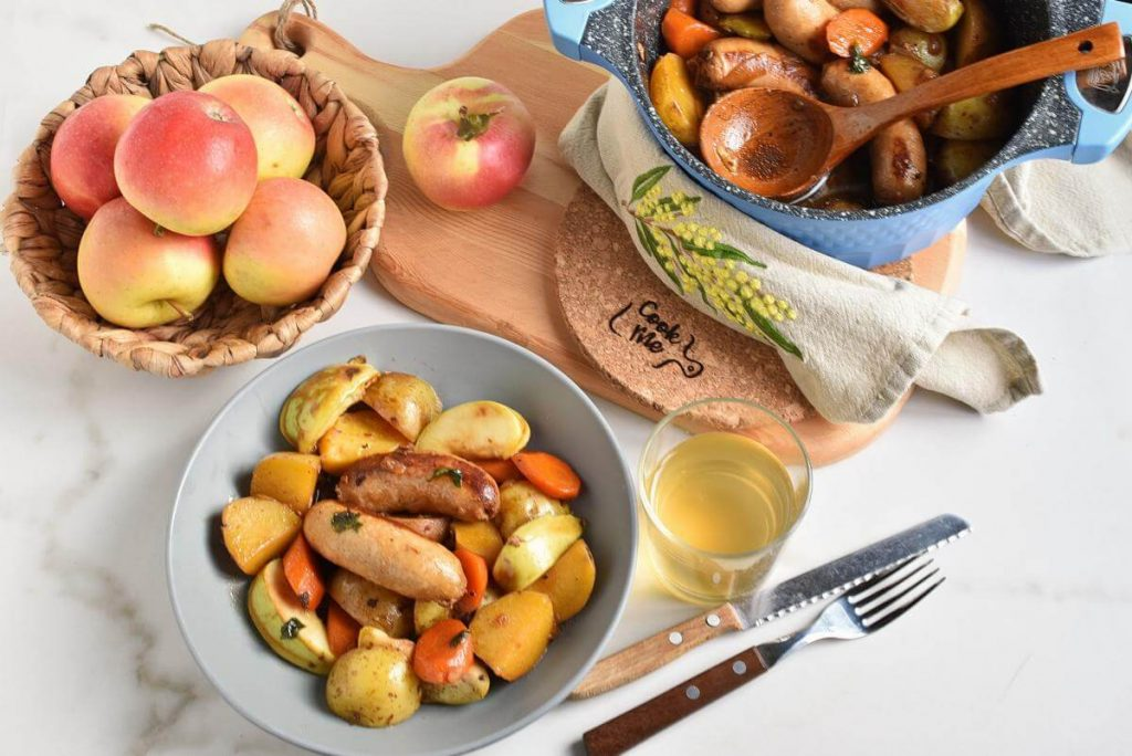 How to serve Cider, Apple and Sausage Casserole