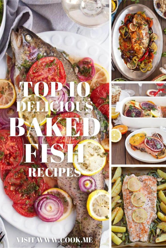 TOP 10 Easy Baked Fish Recipes