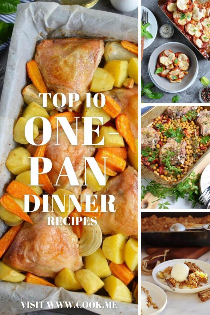 TOP 10 Easy One-Pan Dinner Recipes