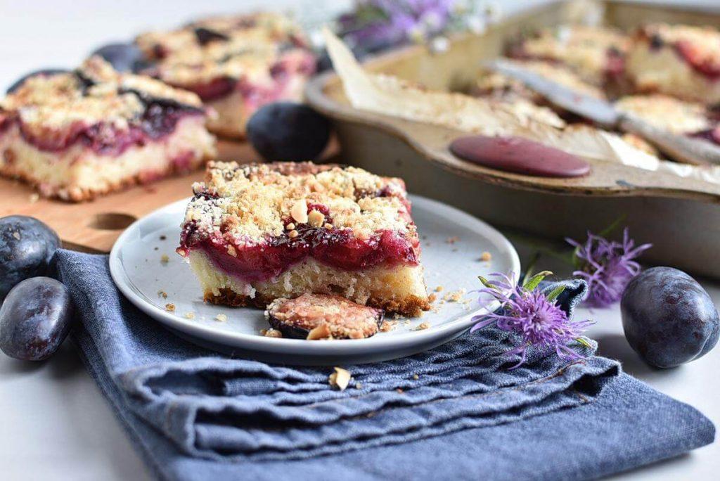 German Damson Plum Cake Recipe–Homemade German Damson Plum Cake–Easy German Damson Plum Cake